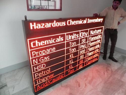 Factory Production Displays