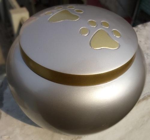 Brass Odyssey Pet Urn
