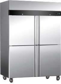 SS Vertical Freezer