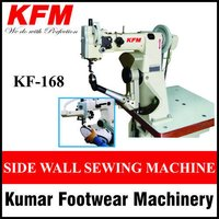 Cylinder Bed Sole Side Sewing Machine With Binding