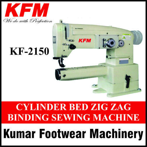 Cylinder Bed Zig Zag Binding Sewing Machine