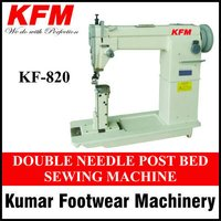 Double Needle Post Bed Sewing Machine