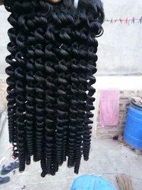 Human Curly Hair