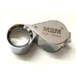 18 MM Magnification Diamond Triplet Loupe