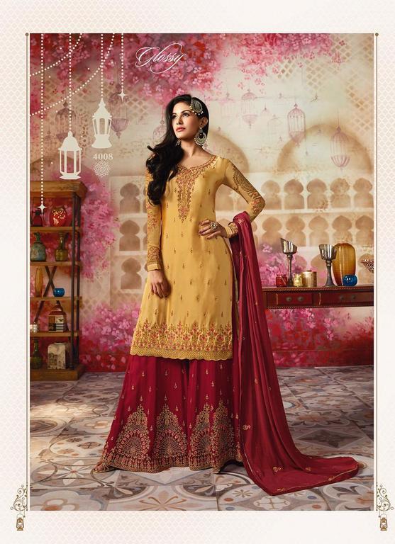 Designer Sharara Suits