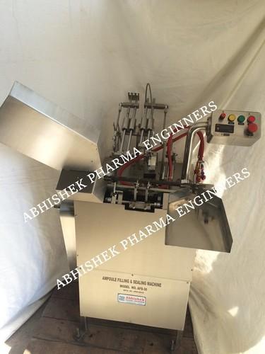 Single Head Ampoule Filling Sealing Machine