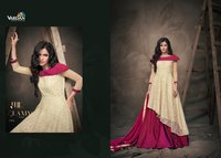 Party Wear Hand Work Silk Suits