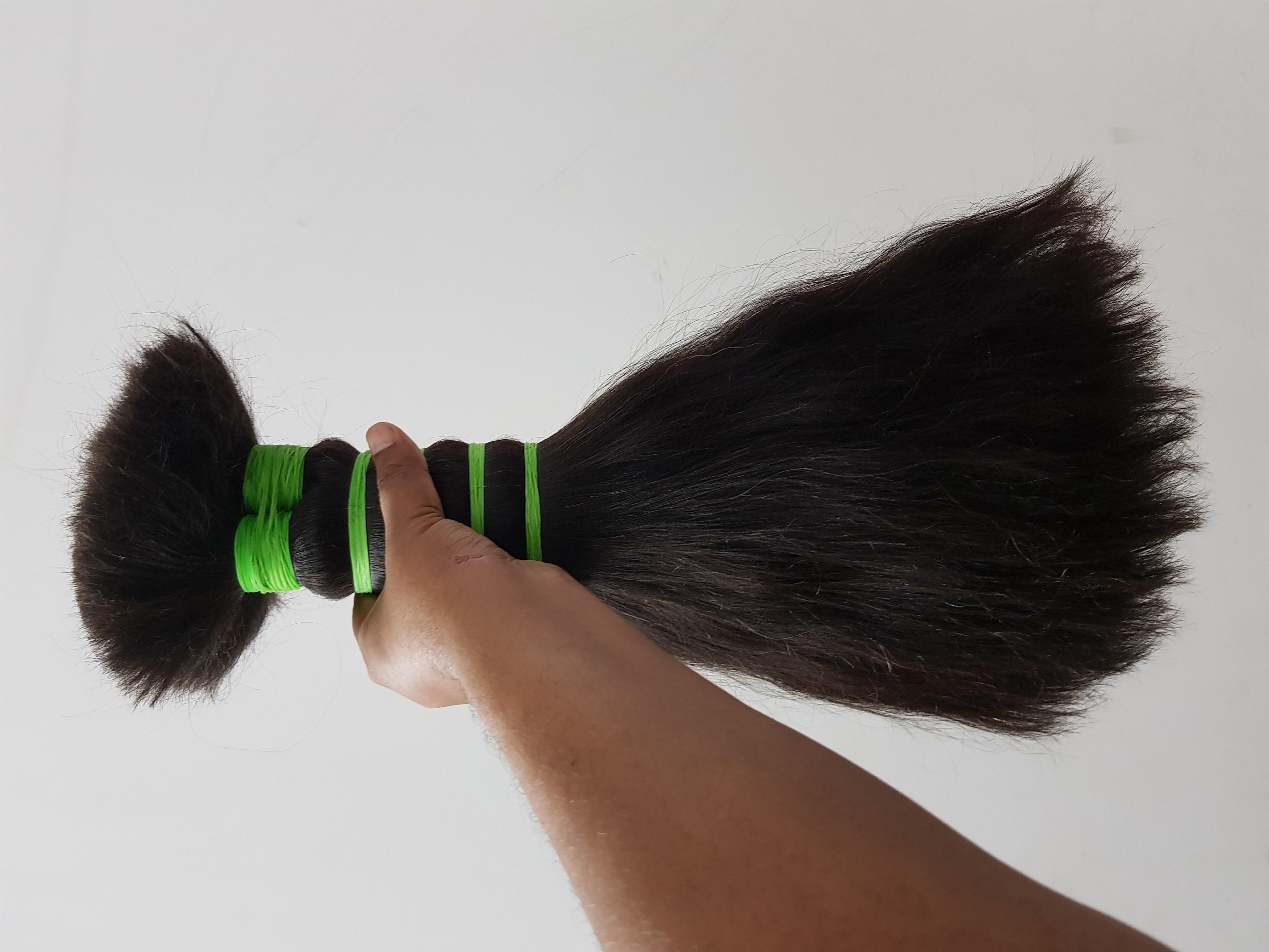 Non Remy Hair Bulk Hair