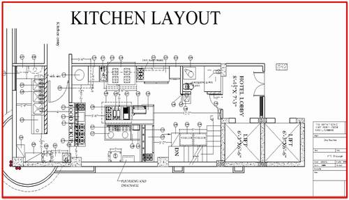 Kitchen Cad Layout Designing Solution
