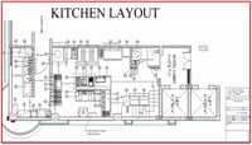 Kitchen Cad Layout Designing Solution