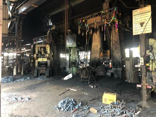 Closed Die Forging Plant In Running Condition
