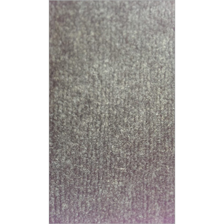 Grey Single Rib Carpet