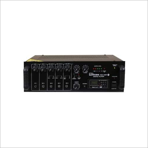 160 WATT PA Digital Mixing Amplifier HSSA-160BT
