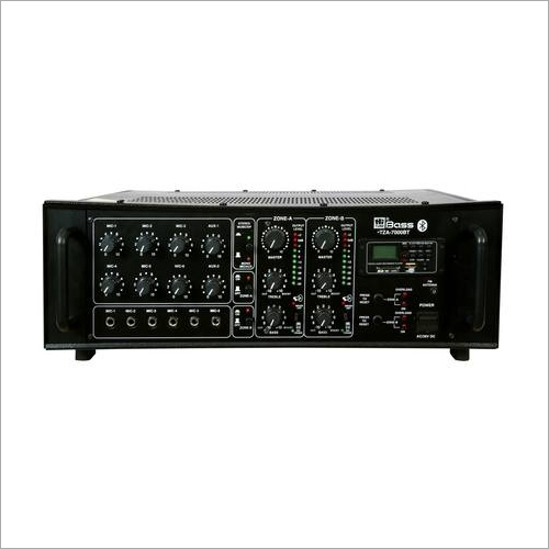 HITUNE BASS 700 WATTS 2 ZONE pa Amplifier HTZA-7000BT