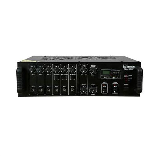 2 ZONE PA DIGITAL MIXING Amplifier HTZA-1500BT