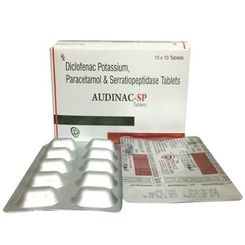 Paracetamol Serratiopeptidase Tablets