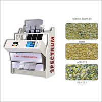 Split Polished Green Gram Color Sorter