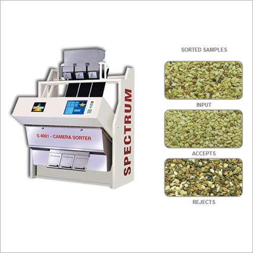 Unhulled Sesame Seeds Color Sorter