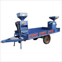 Mini Rice Mill Big Trolley Set