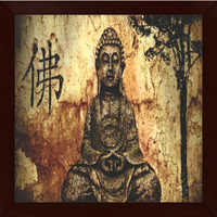 Buddha Framed Wall Painting