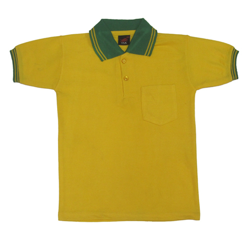 Cotton Yellow T Shirt