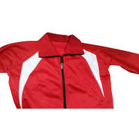 Full Fleece Red Tracksuit