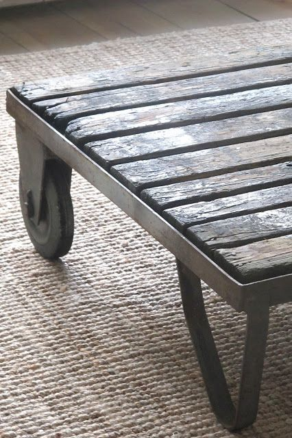 Iron Pipe Coffee Table