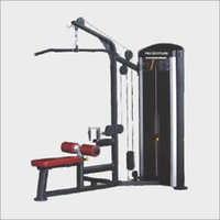 Lat Pull Down With Rowling