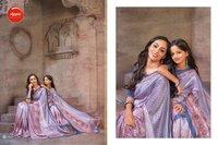 Fancy Pasmina Silk Sarees
