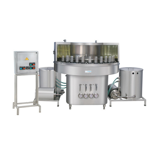 Rotary Bottle Washing Machines