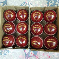 Hard Leather Cricket Ball