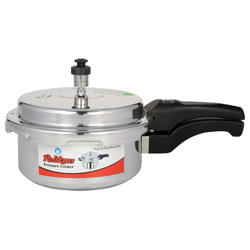 5 Ltr Pelikan Aluminium Outer Lid Pressure Cooker