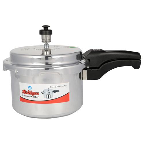 10 Ltr Pelikan Aluminium Outer Lid Pressure Cooker