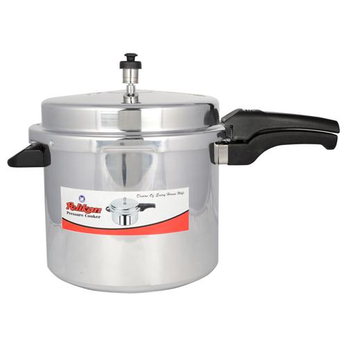 12Ltr Pelikan Outer Lid Aluminium Pressure Cooker