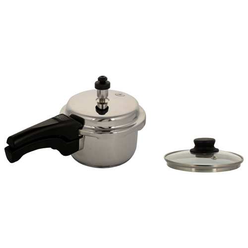 Pelikan Stainless Steel Outer Lid Pressure Cooker