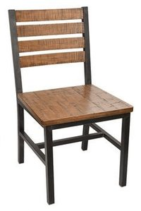 Square Pipe Cafeteria Chair
