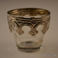 SMALL METAL DECOR CANDLE HOLDER