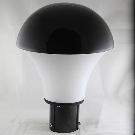 Gate Light Mashroom  18w-Black