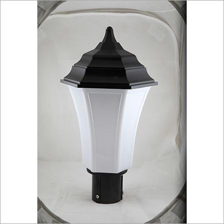Gate Light Triangular 30w- Milky-Black