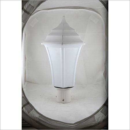 Gate Light Triangular 30w- Milky-White