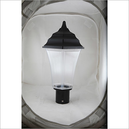 Gate Light Triangular 30w-Clear-Black