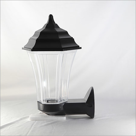 Wall mounted Triangular 30w CLear-Black