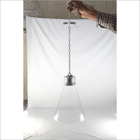 LED  Vivo Hanging Light With Chain- Clear 15w