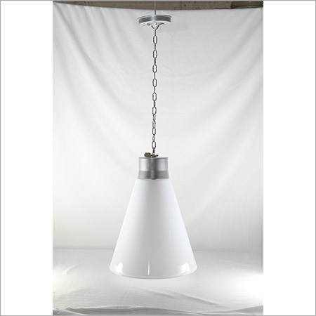 LED Vivo Hanging Light With Chain- Milky 15w