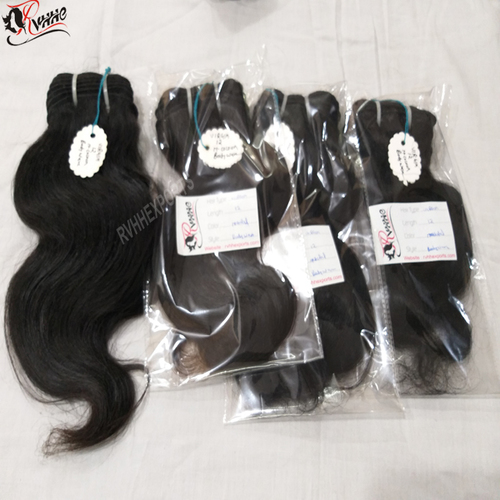 Raw Unprocessed Natural Indian Virgin Human Hair