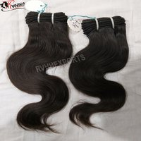 Remi unprocessed natural Indian virgin Human Hair
