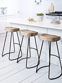 Iron Sheet Bar Stool