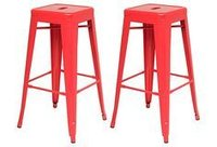 Bar Stool With Die Moulded Legs
