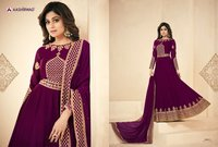Hand Work Georgette Anarkali Suits