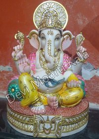 Lord Marble Ganesh Emboss